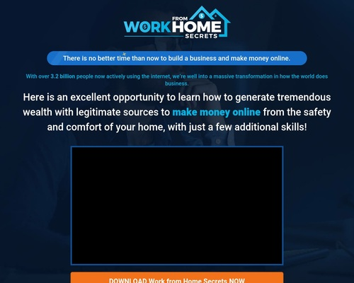Work from Home Secrets