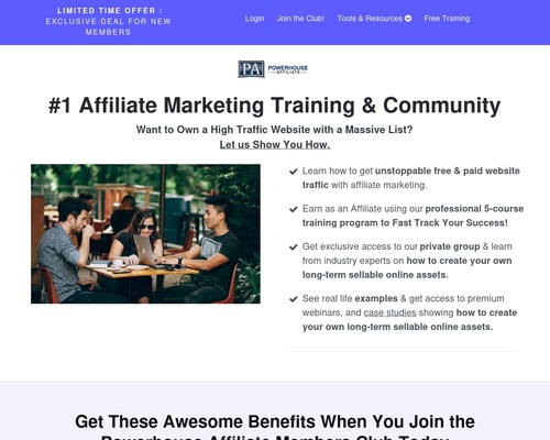 Powerhouse Affiliate - How to Cash In With CPA Marketing