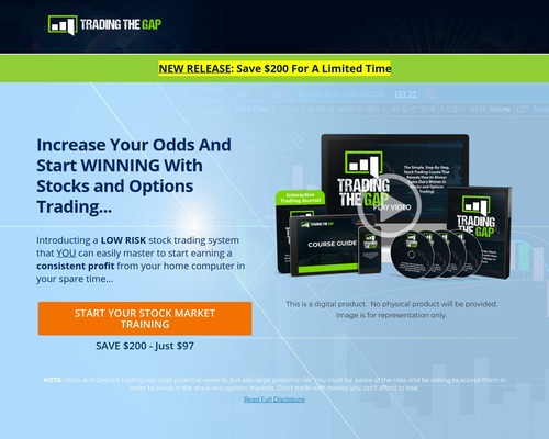 Stock Training - Trading The Gap - Stock Trading Course